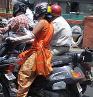 bajaj auto india traffic