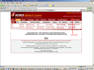 Avoid ICICI Direct Online Trading